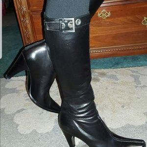 Genuine Prada knee high boots